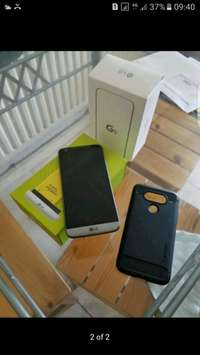 Image of LG G5 32gb lte titanium grey as new 4gb ram in with accesories situate
