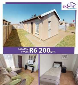 Affordable new houses for sale at Sky City  Alberton