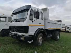 Mercedes Benz tipper vseries