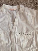 Biała galowa elegancka koszula