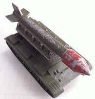 игрушка СССР военная техника ракетная установка