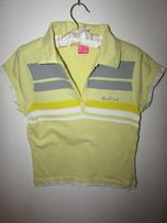Żółta bluzka koszulka polo rozmiar M
