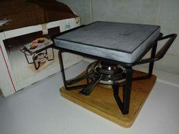 Stary podgrzewacz grill kamienny nowy