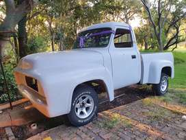 1955 Ford Pickup. 4x4 Ranger Chassis