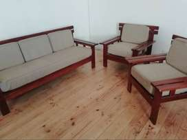 Handmade teak lounge set