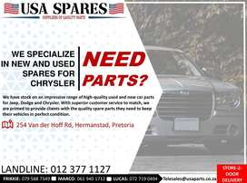 Various Chrysler new and used spare parts for sale