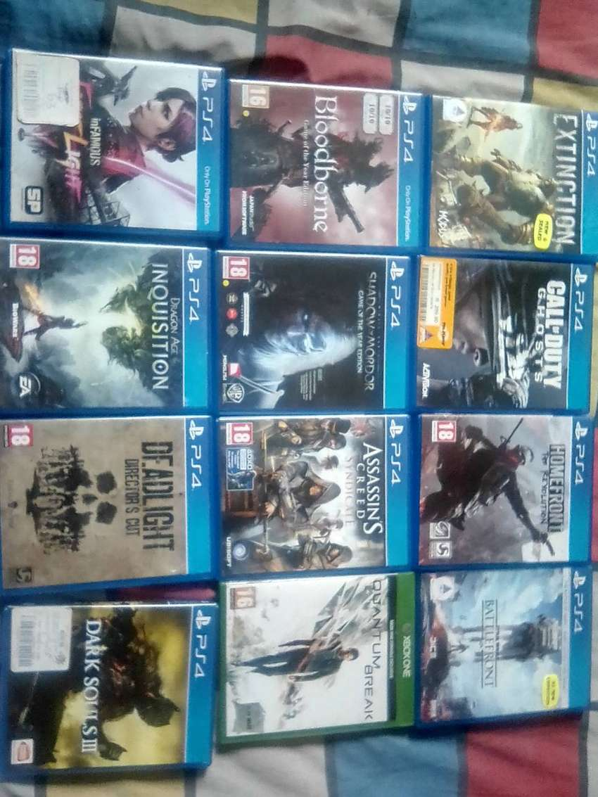 PS4 games for sale + special 0