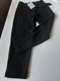 Czarne spodnie galowe134. Zara