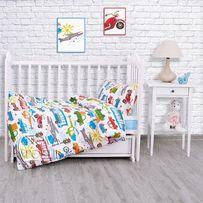 Детское постельное белье для мальчиков Городское движение