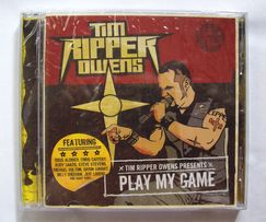 TIM RIPPER OWENS (Iced Earth, Judas Priest) - Play My Game (2009)
