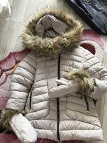 Зимняя куртка для леди
