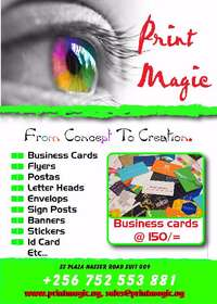Printing for as low as 125/=(We have agents allover uganda) 0
