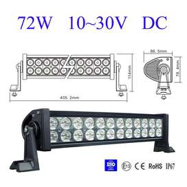 LED Auto Light Bars 72W Brand New Products