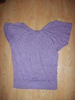 Fioletowa bluzka nietoperz r.S/M