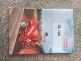 Grimme GL 420, brand new pamphlet, free