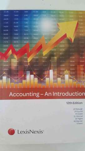 Accounting - An Introduction 12th edition