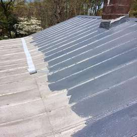 Liquid rubberising roof paint and waterproofing