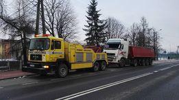 transport maszyn rolniczych i budowlanych laweta pomoc drogowa