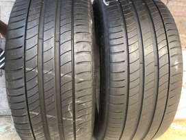 245/40/19 Michelin Run Flat Tyres