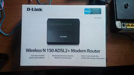 Маршрутизатор D-Link DSL-2640U (роутер)