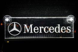 Led табличка логотип.MERCEDES.Scania.Iveco.Renault.Daf.Man