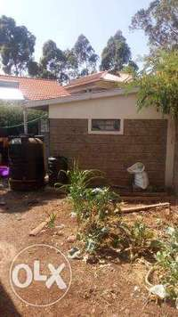 HS08 – Ngong town 3bedroom bungalow with sq 10.5m 0