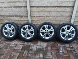 Original Mercedes Benz w205  Rims with tyres for sale