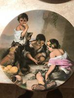 Тарелка с Баварии репродукции картин
