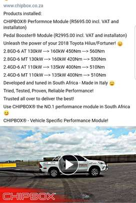 Toyota Hilux/Fortuner Chipbox 2.8gd6 R3000