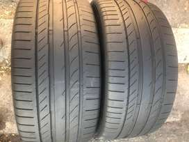 275 40 R20 Continental Run Flat Tyres | 85% Thread | For BMW X5