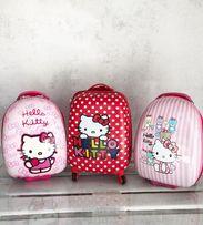 АКЦИЯ Детский чемодан для девочки Хелоу Китти Hello Kitty Миньон и др