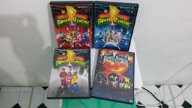 Mighty morphin Power rangers complete seriep for sale
