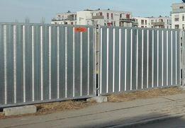 Ogrodzenie budowlane tymczasowe Pełne - Panel 2000x2900mm-WIELKOPOLSK
