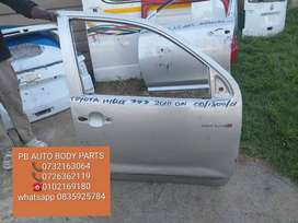 toyota hilux d4d right front door 2010 on double cab
