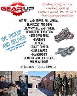 Gear Up-Gearbox and Diff services