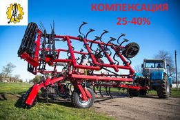 Новый культиватор КСО-8 на широких колесах