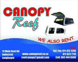 Canopy Reef: New and pre-owned bakkie canopies