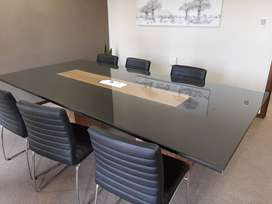 Boardroom Table with electrical point