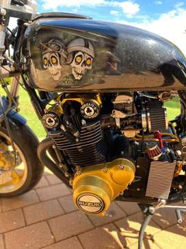 For Sale!!! Cafe racer built by KCR Motorcycles, 1977 Model, 52kms