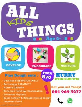 "All Things Kids!!! ""Play dough Sets"""