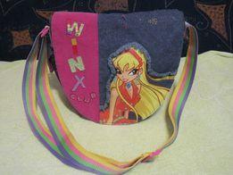 Фирменная детская сумочка Winx для девочки.