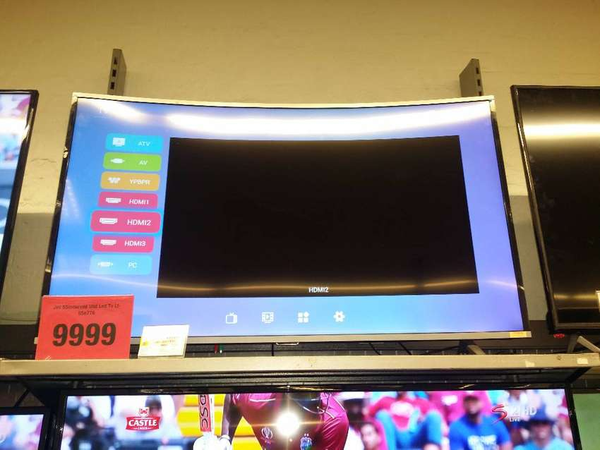 Jvc 55inch smart curved tv 0