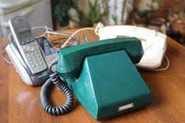 Телефонный аппарат стационнарный. Ретро- телефон. Совдеп.