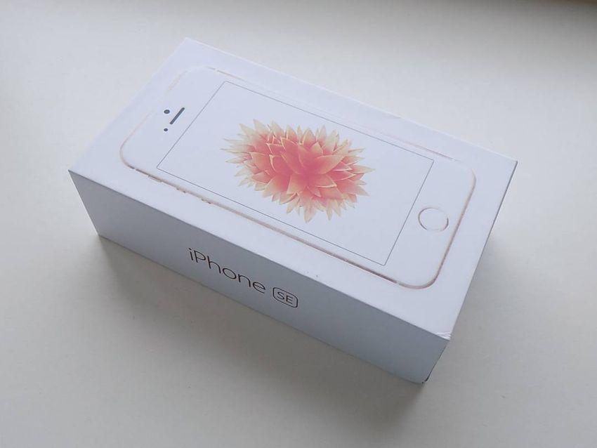 APPLE iPhone SE 128GB Gold - KOMPLETNÍ - ZÁRUKA 12 MĚSÍCŮ - TOP 0