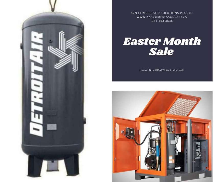 Industrial Air Compressors - Easter Month Sale