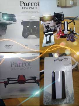 Parrot BEBOP Drone 2 plus controller and FPV Pack