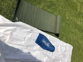 Single Roll up camping mat with cover