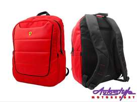 Ferrari Scuderia Rucksack Backpack  Ferrari backpack is the stylish Fe