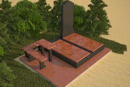 Изготовление памятников на 2 христианском кл. и любом другом.