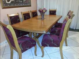Solid Oak Dining Chairs for Sale